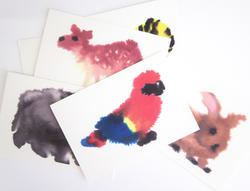 Wild animals - cards